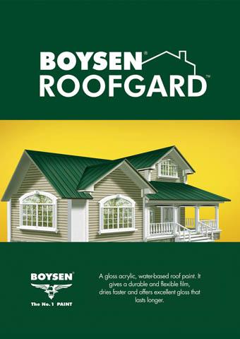 Pacific Paint Boysen Philippines Inc Roofgard Boysen Sup Sup Roofgard Additional Bom Rfgard New Rooftiles Shingles