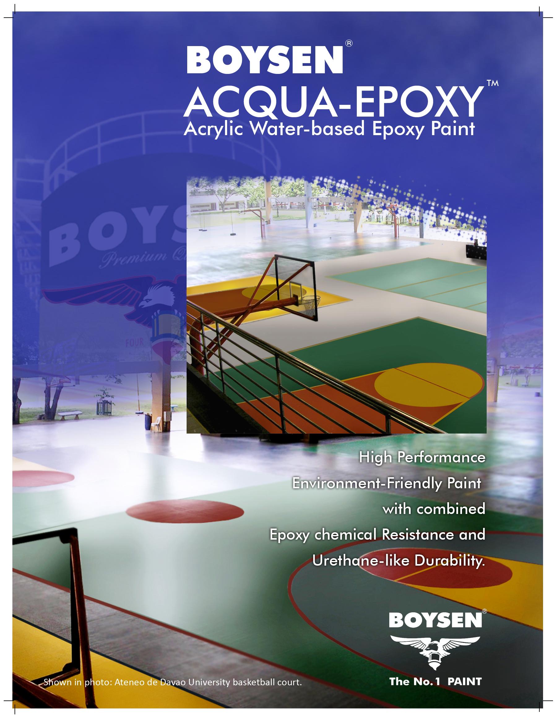 Pacific Paint Boysen Phils New Design Inc Acqua