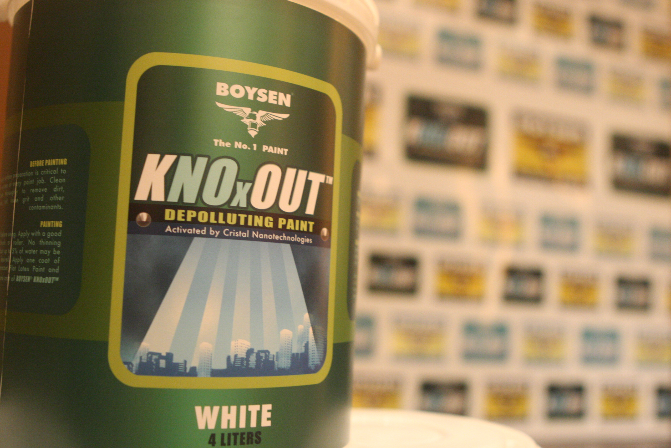BOYSEN<sup>®</sup> Launches Advanced Depolluting Paint