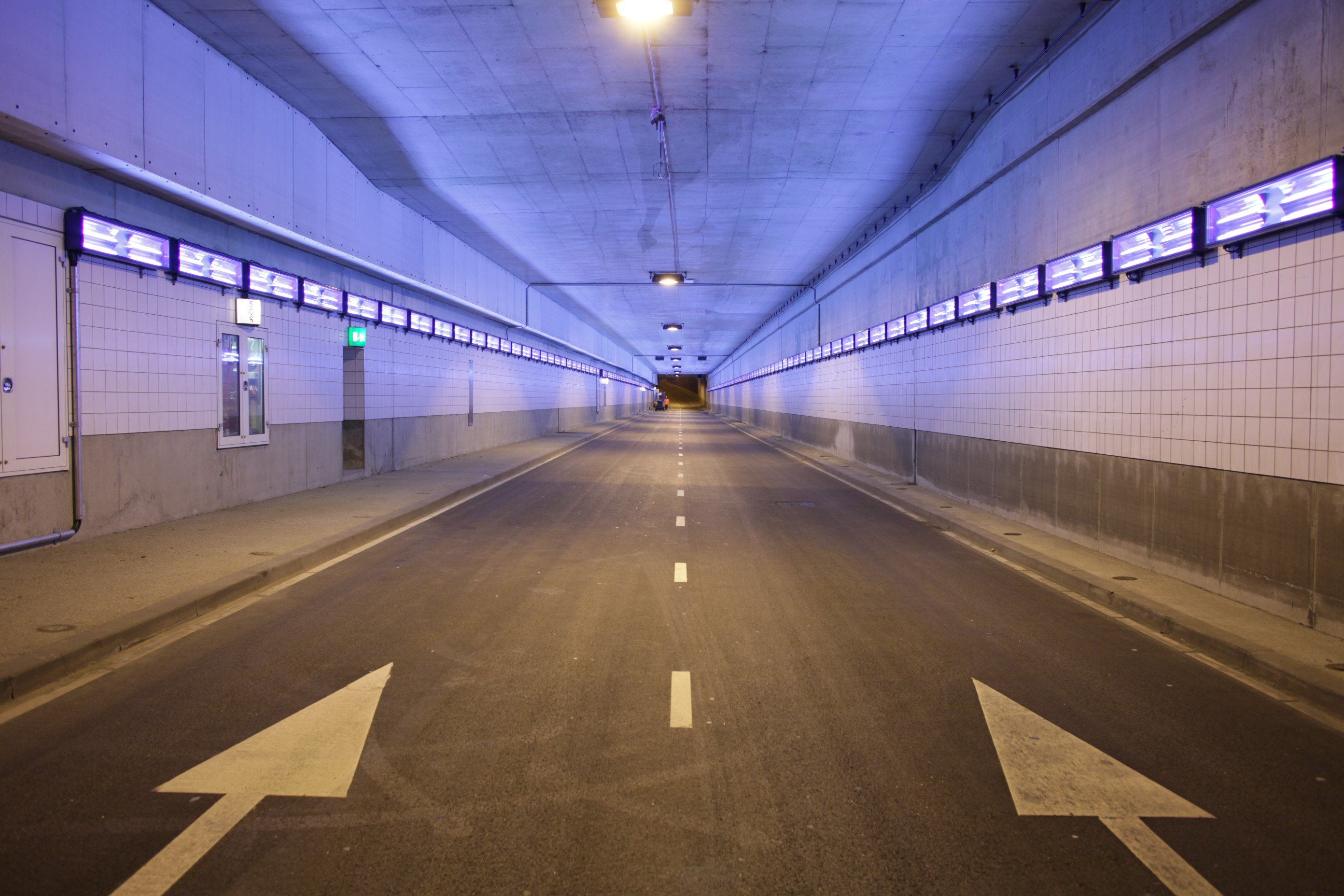 The Hague performs an innovative environmental experiment in the Koningstunnel