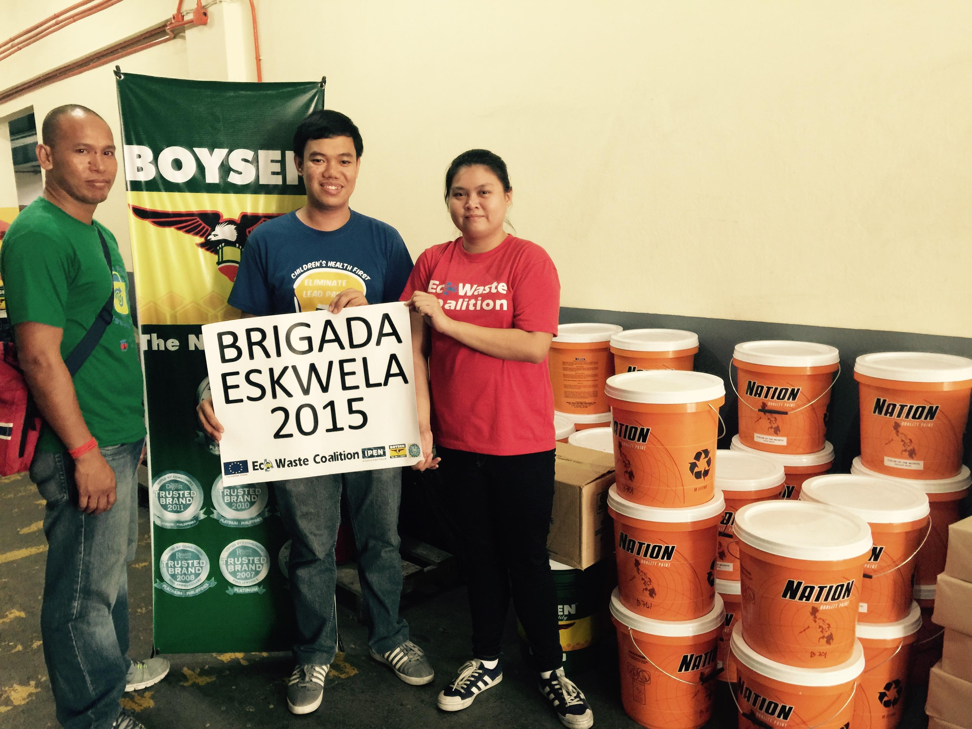'Use Lead-safe Paints for Brigada Eskwela Renovations,' Organizers Told