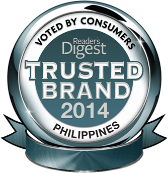 Reader's Digest Trusted Paint Brand - Philippines